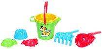 Комплект за игра с пясък - Детска играчка - чанта