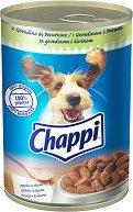 Chappi Can Beef & Poultry Adult - Говеждо и птиче месо за кучета в зряла възраст - консерви от 400 g и 1.2 kg -