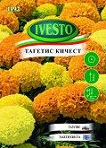 """Семена от Кичест Тагетис Еректа - микс от цветове - Опаковка от 2 g от серия """"Ивесто"""""""