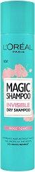 L'Oreal Magic Shampoo - Rose Tonic - Освежаващ сух шампоан с флорален аромат - ластик