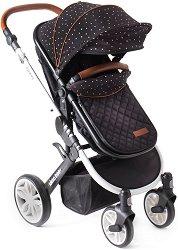 Комбинирана бебешка количка - Dotty - С 4 колела -