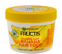Garnier Fructis Nourishing Banana Hair Food - Подхранваща маска с екстракт от банан за суха коса - червило