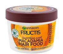 Garnier Fructis Smoothing Macadamia Hair Food - Изглаждаща маска с макадамия за непокорна коса - маска