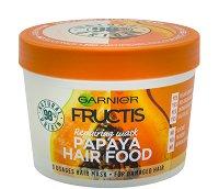 Garnier Fructis Repairing Papaya Hair Food - Възстановяваща маска с папая за увредена коса - продукт