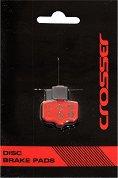 Накладки за дискови спирачки - Crosser PD102S - Велосипеден компонент