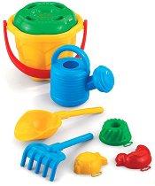 Комплект за игра с пясък - Детски играчки - творчески комплект