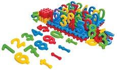 Светът на цифрите - Детски образователен комплект -