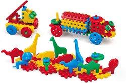 Детски конструктор с вафлени блокчета - детски аксесоар