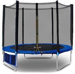 Батут - Комплект със защитна мрежа и стълба -