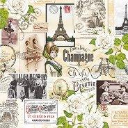 Салфетки за декупаж - Снимки от Париж - Пакет от 20 броя