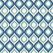 Салфетки за декупаж - Сини орнаменти - Пакет от 20 броя