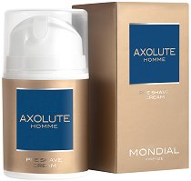 "Mondial Axolute Homme Pre Shave Cream - Крем за преди бръснене от серията ""Axolute"" -"