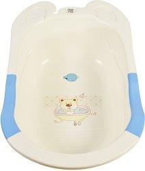 Бебешка вана за къпане с изход за оттичане - Starfish - С дължина 80 cm -