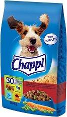 Chappi Dry Beef & Poultry Adult - Суха храна с говеждо и птиче месо за кучета в зряла възраст - чували от 500 g ÷ 13.5 kg -