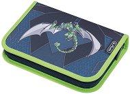 Несесер с ученически пособия - Green Robo Dragon -
