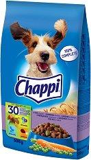Chappi Dry Beef Adult - Суха храна с говеждо месо за кучета в зряла възраст - чували от 500 g ÷ 13.5 kg -