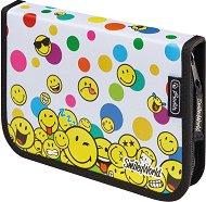 Несесер с ученически пособия - SmileyWorld Rainbow Faces - играчка