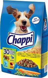 Chappi Dry Chicken Adult - Суха храна с птиче месо за кучета в зряла възраст - чували от 3 kg и 13.5 kg -