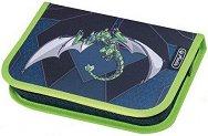 Ученически несесер - Green Robo Dragon - играчка