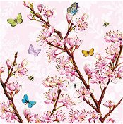 Салфетки за декупаж - Blossom Rose