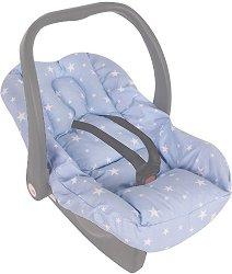 Калъфка с подложка за новородено - Аксесоар за бебешко кошче за кола - продукт