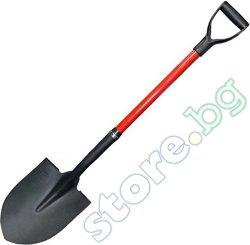 Права лопата със заострен връх
