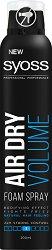 Syoss Air Dry Volume Foam Spray - Спрей-пяна за обем - душ гел