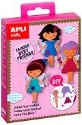 Облечи момичетата - Приказни феи - Творчески комплект - играчка