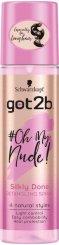 Got2b Oh My Nude Silkly Done Detangling Spray - Спрей за лесно разресване на косата - душ гел