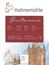 Скицник за рисуване с акварел - Britannia - Плътност на хартията 300 g/m : 2</sup
