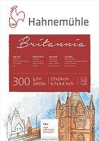 Скицник за рисуване с акварел - Britannia - Плътност на хартията 300 g/m : 2 :