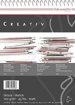 Скицник - Creativ - Комплект от 50 или 100 листа