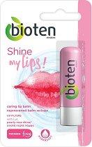 """Bioten Shine My Lips Caring Lip Balm - Балсам за устни с перлен блясък от серията """"My Lips"""" - пяна"""
