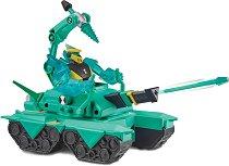 """Diamondhead с боен танк - Комплект за игра от серията """"Ben 10"""" - играчка"""