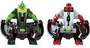 """Фигурки омни бойци - Four Arms и Wildvine - Комплект за игра от серията """"Omni-lunch Battle Figures"""" - играчка"""