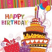 Салфетки за декупаж - Happy Birthday