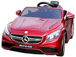 Детска акумулаторна кола - Mercedes S63 - Комплект с дистанционно управление -