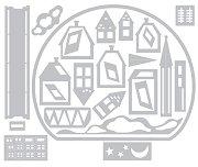 Щанци за машина за изрязване и релеф - Преспапие - Комплект от 26 броя с размери от 0.3 до 11.4 cm