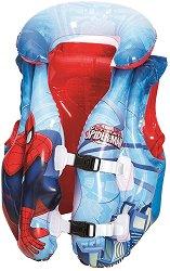 Детска спасителна жилетка - Spiderman - Аксесоар за плуване - играчка
