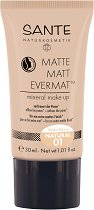 Sante Matte Matt Evermat Mineral Make Up - Минерален фон дьо тен с матиращ ефект -