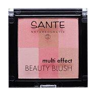 Sante Multi Effect Beauty Blush - Руж за лице с матов ефект - маска