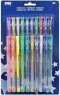 Цветни гел химикалки