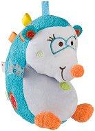 Таралежчето Чарли - Мека бебешка играчка с дрънкалка -