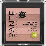 Sante Beautifying Highlighter - Хайлайтър за лице - спирала