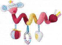 Мишката Миа - Мека играчка за бебешкa количка -