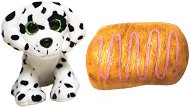 Sweet Pups - Кученце-сладкиш: Далматинец - Трансформираща се плюшена играчка -