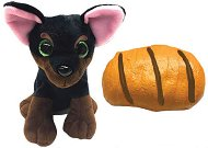 Sweet Pups - Кученце-сладкиш: Ротвайлер - Трансформираща се плюшена играчка -
