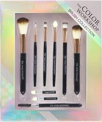 Markwins International Color Workshop Brush Collection - Комплект с четки и апликатори за грим - спирала