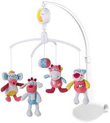 Музикална въртележка - Роси и приятели - Играчка за бебешко креватче -