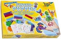 Направи сам - Кукли за театър за пръсти - Творчески комплект - играчка